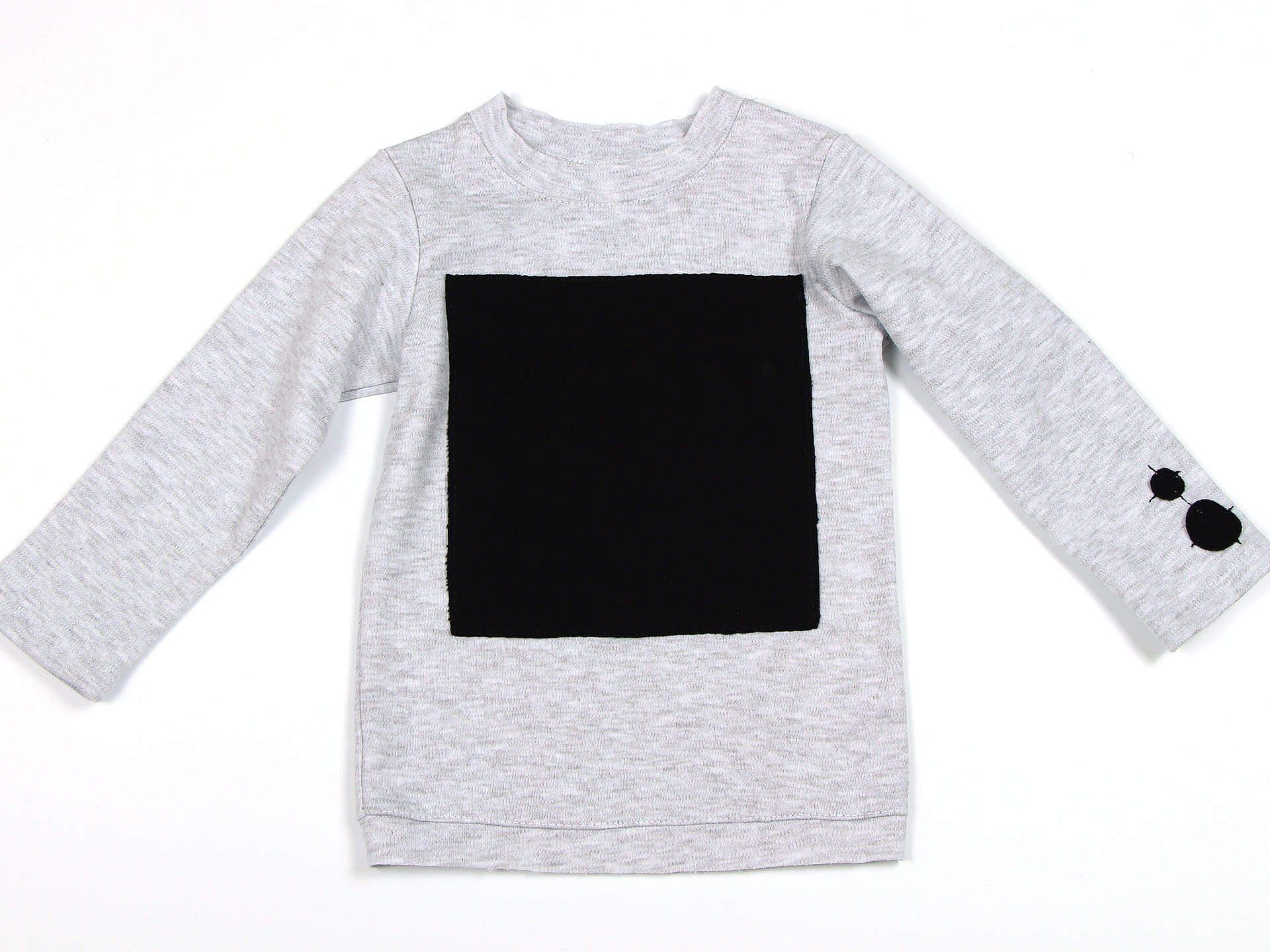 Лонгслив L-grey square