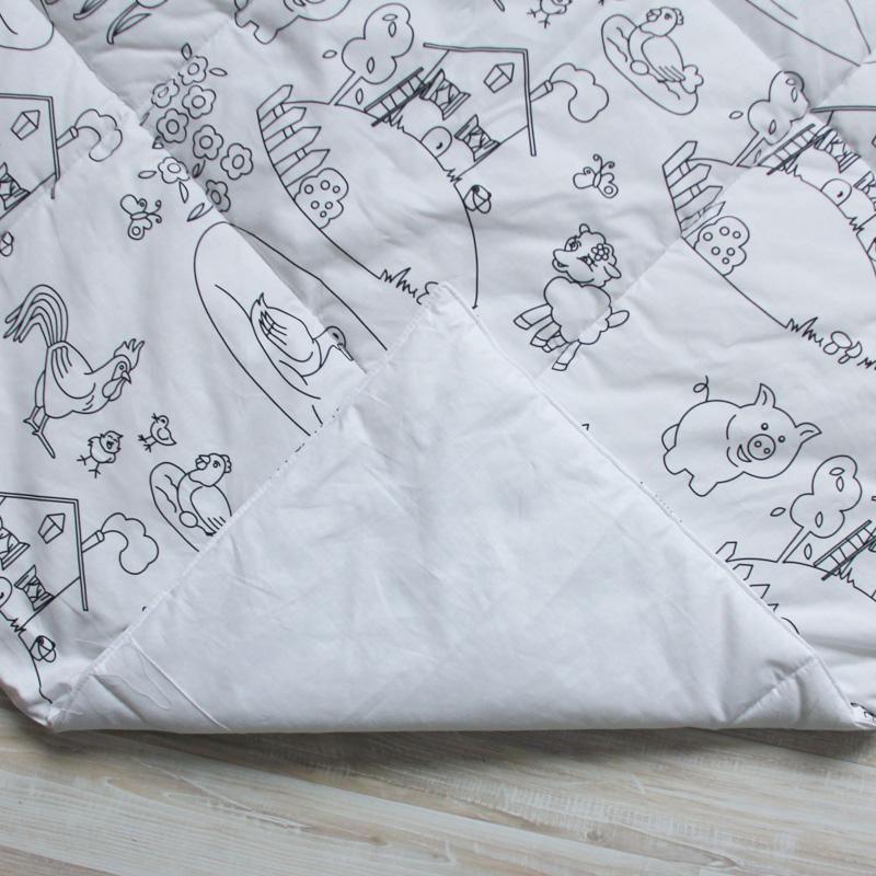 Стеганый игровой коврик под раскраску Painter